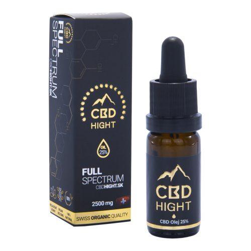 CBD olej Hight Top Full Spectrum 25%