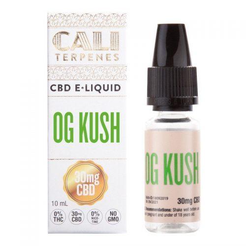 E-liquid Og Kush CBD 100mg 10ml 0% Nicotine